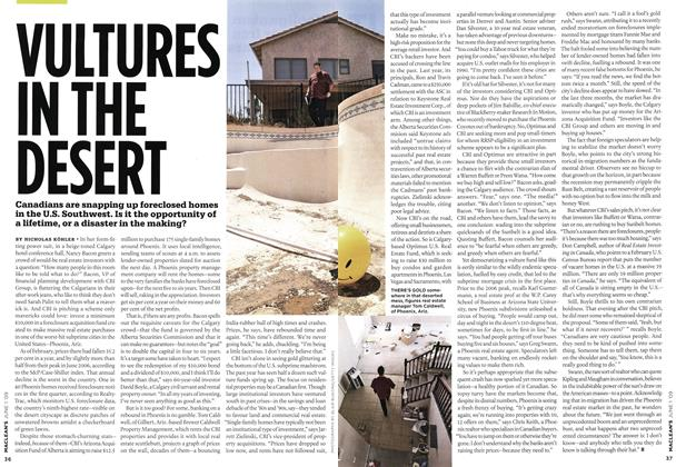 Article Preview: VULTURES IN THE DESERT, JUNE 1st 2009 2009 | Maclean's