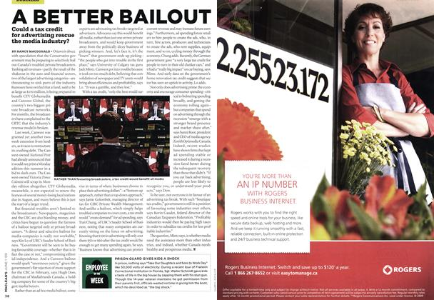 Article Preview: A BETTER BAILOUT, JUNE 1st 2009 2009 | Maclean's