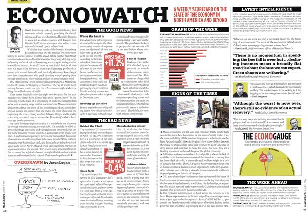 Article Preview: OVERDRAWN, JUNE 1st 2009 2009 | Maclean's
