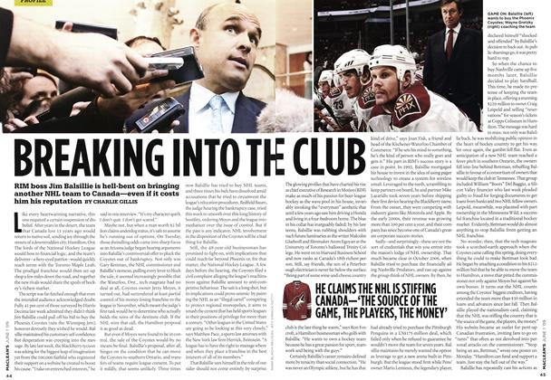Article Preview: BREAKING INTO THE CLUB, JUNE 1st 2009 2009 | Maclean's