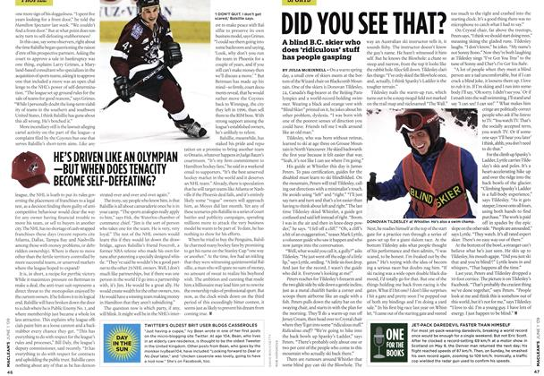 Article Preview: DID YOU SEE THAT?, JUNE 1st 2009 2009 | Maclean's