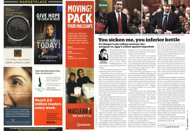 Article Preview: You sicken me, you inferior kettle, JUNE 1st 2009 2009 | Maclean's