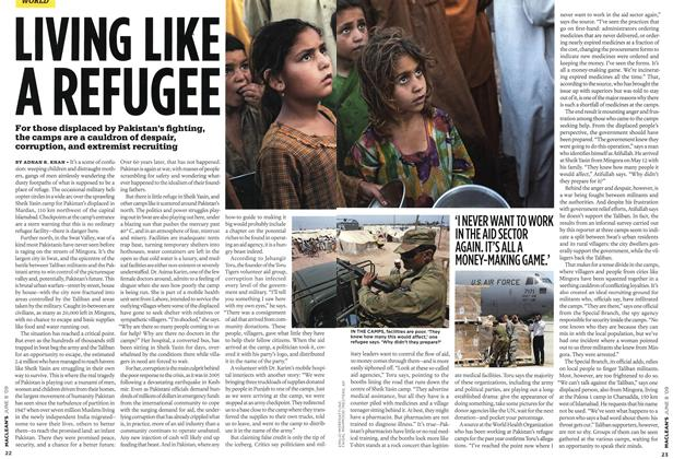 Article Preview: LIVING LIKE A REFUGEE, JUNE 8th 2009 2009 | Maclean's