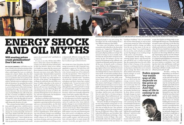 Article Preview: ENERGY SHOCK AND OIL MYTHS, JUNE 8th 2009 2009 | Maclean's