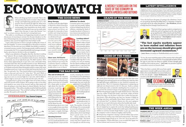 Article Preview: ECONOWATCH, JUNE 8th 2009 2009 | Maclean's