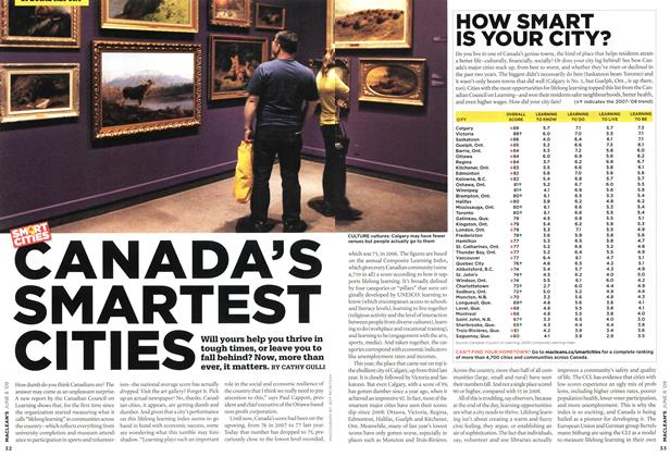 Article Preview: CANADA'S SMARTEST CITIES, JUNE 8th 2009 2009 | Maclean's