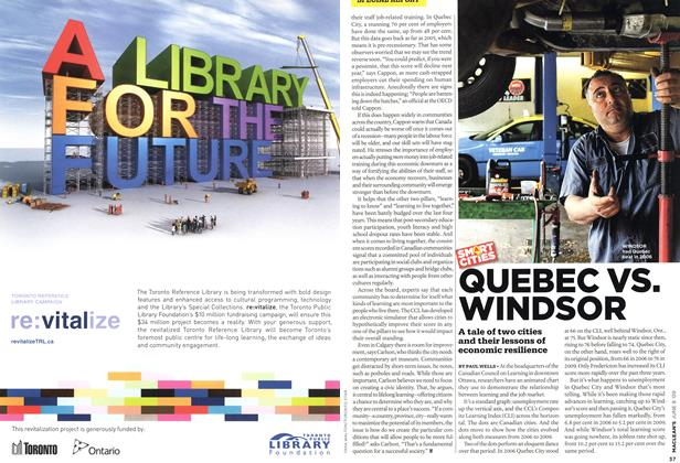Article Preview: QUEBEC VS. WINDSOR, JUNE 8th 2009 2009 | Maclean's
