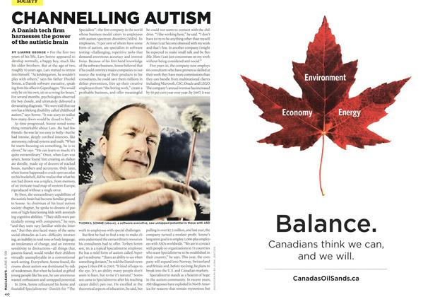 Article Preview: CHANNELLING AUTISM, JUNE 8th 2009 2009 | Maclean's
