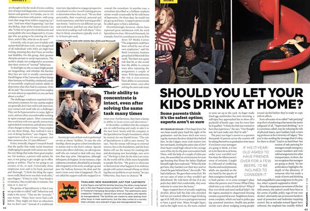 Article Preview: SHOULD YOU LET YOUR KIDS DRINK AT HOME?, JUNE 8th 2009 2009 | Maclean's
