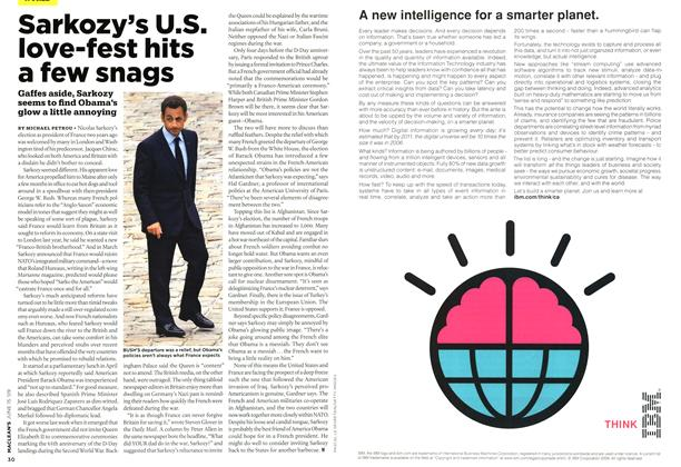 Article Preview: Sarkozy's U.S. love-fest hits a few snags, JUNE 15th 2009 2009 | Maclean's