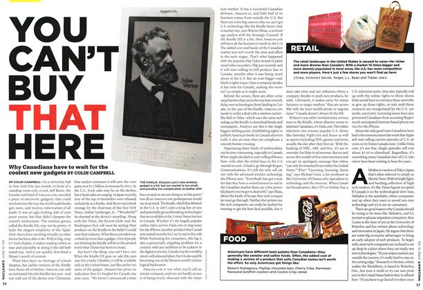 Article Preview: YOU CAN'T BUY THAT HERE, JUNE 15th 2009 2009 | Maclean's