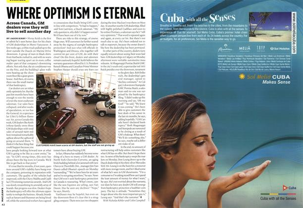 Article Preview: WHERE OPTIMISM IS ETERNAL, JUNE 15th 2009 2009 | Maclean's