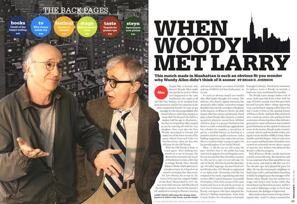 Article Preview: WHEN WOODY MET LARRY, JUNE 15th 2009 2009 | Maclean's