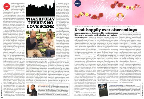 Article Preview: Dead: happily-ever-after endings, JUNE 15th 2009 2009 | Maclean's