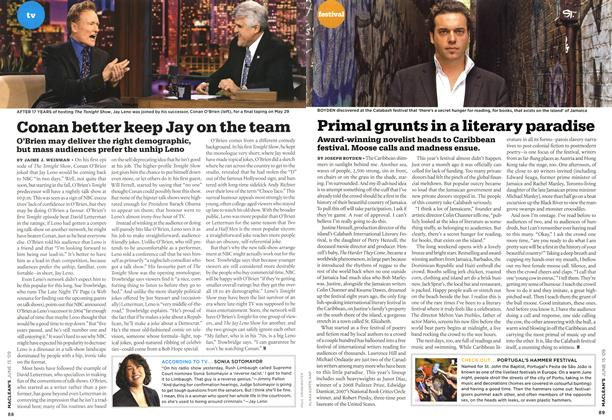 Article Preview: Primal grunts in a literary paradise, JUNE 15th 2009 2009 | Maclean's