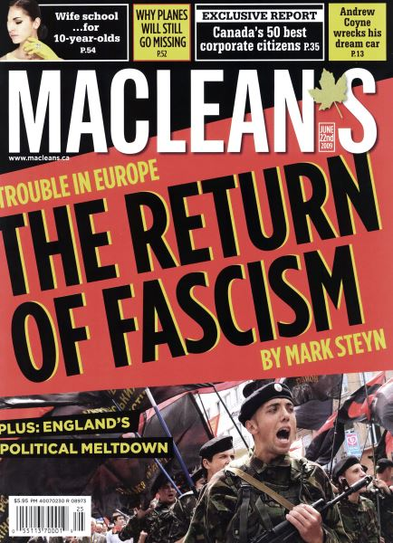 Issue: - JUNE 22nd 2009 | Maclean's