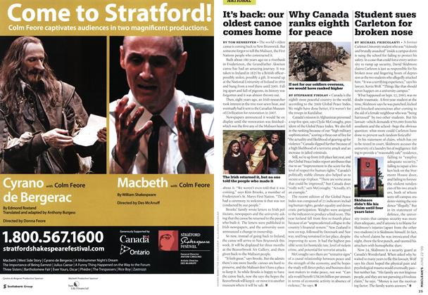 Article Preview: Student sues Carleton for broken nose, JUNE 22nd 2009 2009 | Maclean's