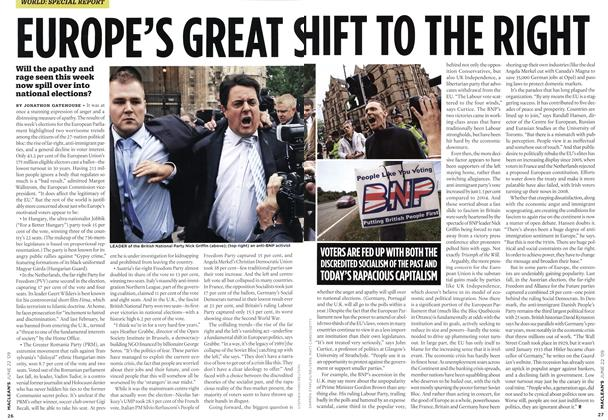 Article Preview: EUROPE'S GREAT SHIFT TO THE RIGHT, JUNE 22nd 2009 2009 | Maclean's