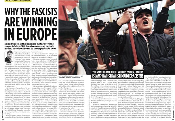 Article Preview: WHY THE FASCISTS ARE WINNING IN EUROPE, JUNE 22nd 2009 2009 | Maclean's