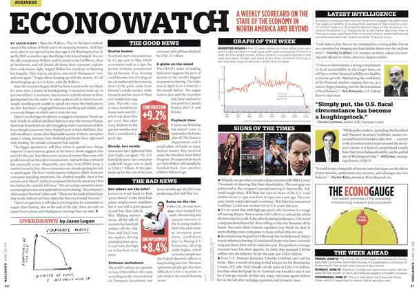 Article Preview: ECONOWATCH, JUNE 22nd 2009 2009 | Maclean's
