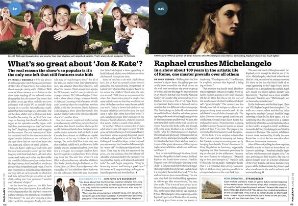 Article Preview: Raphael crushes Michelangelo, JUNE 22nd 2009 2009 | Maclean's