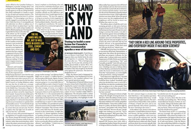 Article Preview: THIS LAND IS MY LAND, JUNE 29th 2009 2009 | Maclean's