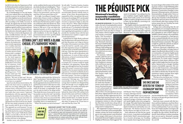 Article Preview: THE PÉQUISTE PICK, JUNE 29th 2009 2009 | Maclean's