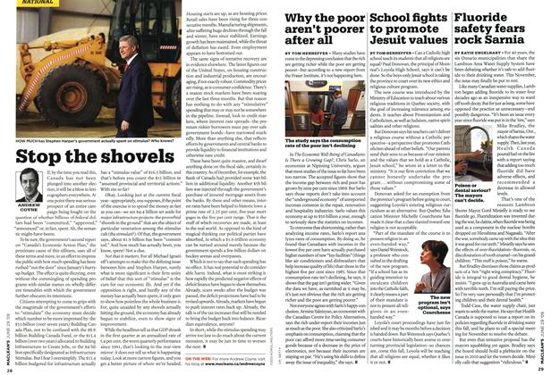Article Preview: Fluoride safety fears rock Sarnia, JUNE 29th 2009 2009 | Maclean's
