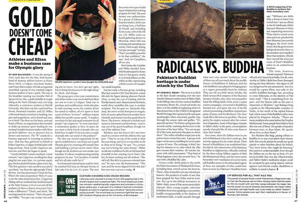 Article Preview: RADICALS VS. BUDDHA, JUNE 29th 2009 2009 | Maclean's