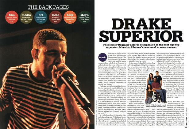 Article Preview: DRAKE SUPERIOR, JUNE 29th 2009 2009 | Maclean's