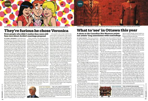 Article Preview: They're furious he chose Veronica, JUNE 29th 2009 2009 | Maclean's