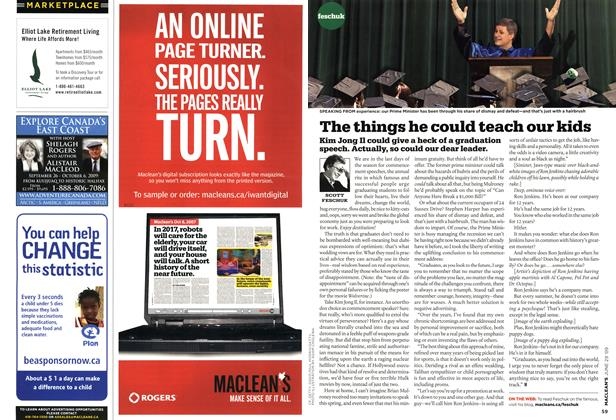Article Preview: The things he could teach our kids, JUNE 29th 2009 2009 | Maclean's