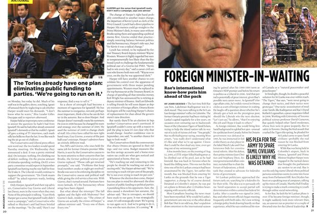 Article Preview: FOREIGN MINISTER-IN-WAITING, JULY 6th 2009 2009 | Maclean's