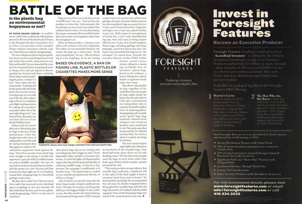 Article Preview: BATTLE OF THE BAG, JULY 6th 2009 2009 | Maclean's