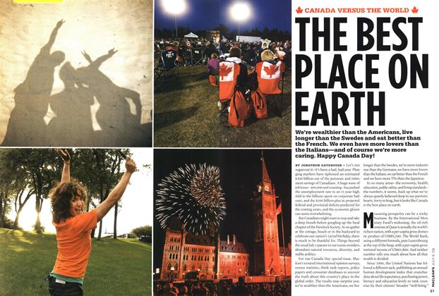 Article Preview: THE BEST PLACE ON EARTH, JULY 6th 2009 2009 | Maclean's