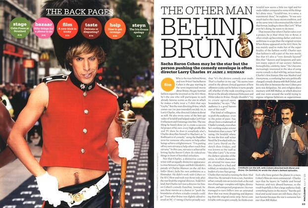Article Preview: THE OTHER MAN BEHIND BRÜN, JULY 6th 2009 2009 | Maclean's
