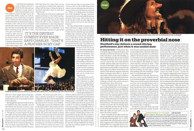 Article Preview: Hitting it on the proverbial nose, JULY 6th 2009 2009 | Maclean's