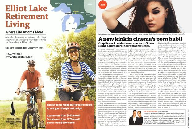 Article Preview: A new kink in cinema's porn habit, JULY 6th 2009 2009 | Maclean's