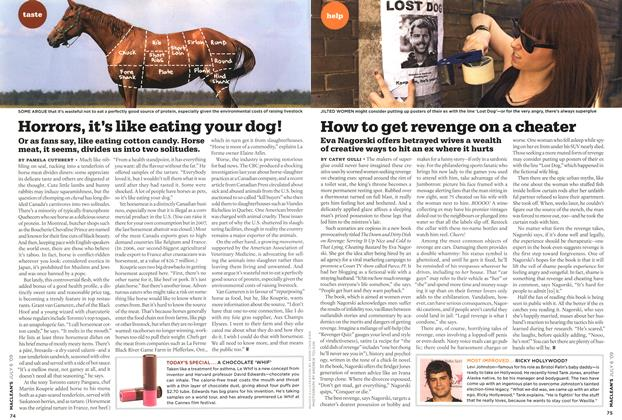 Article Preview: How to get revenge on a cheater, JULY 6th 2009 2009 | Maclean's
