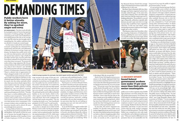 Article Preview: DEMANDING TIMES, JULY 20th 2009 2009 | Maclean's