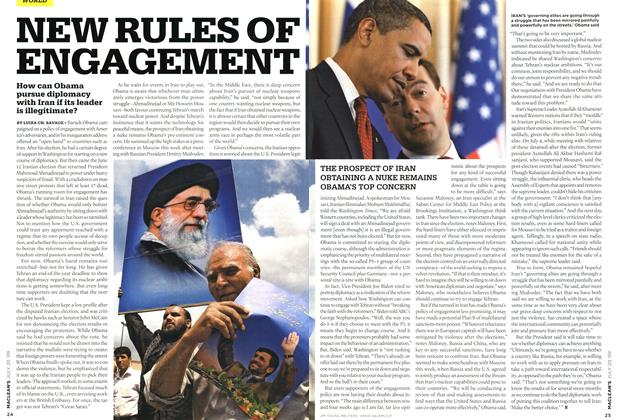 Article Preview: NEW RULES OF ENGAGEMENT, JULY 20th 2009 2009 | Maclean's