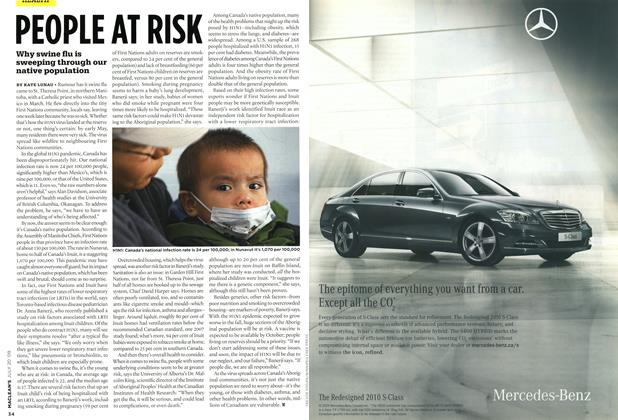 Article Preview: PEOPLE AT RISK, JULY 20th 2009 2009 | Maclean's