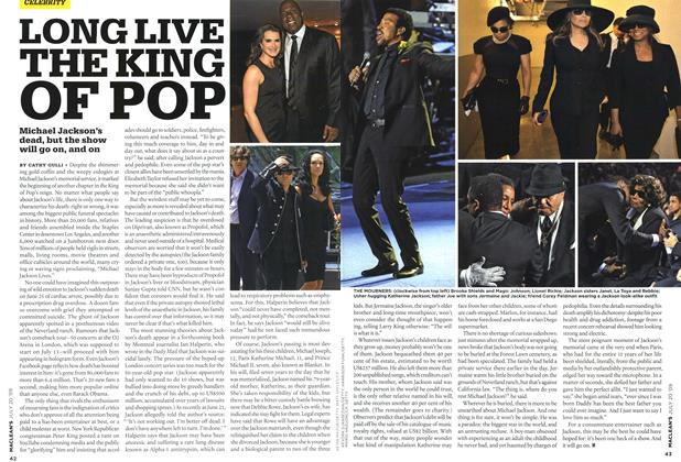 Article Preview: LONG LIVE THE KING OF POP, JULY 20th 2009 2009 | Maclean's