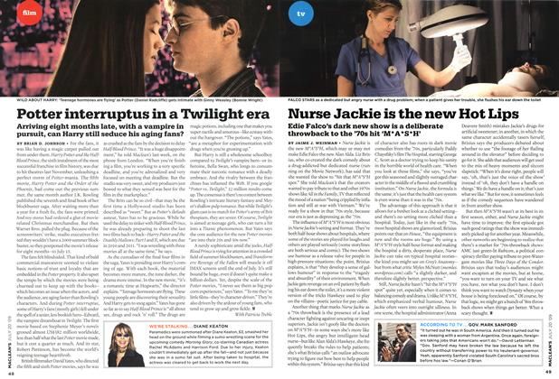 Article Preview: Nurse Jackie is the new Hot Lips, JULY 20th 2009 2009 | Maclean's