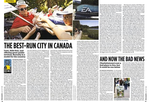 Article Preview: THE BEST-RUN CITY IN CANADA, JULY 27th 2009 2009 | Maclean's