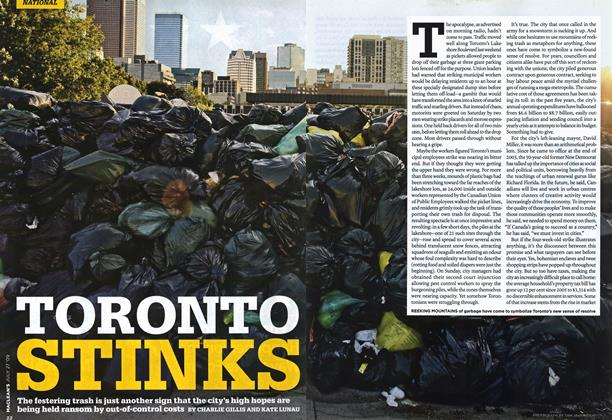 Article Preview: TORONTO STINKS, JULY 27th 2009 2009 | Maclean's