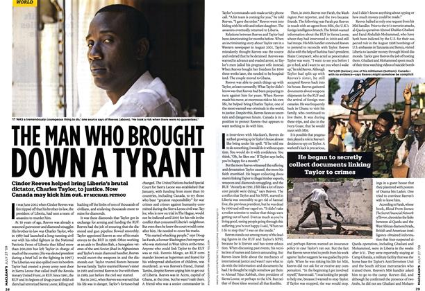 Article Preview: THE MAN WHO BROUGHT DOWN A TYRANT, JULY 27th 2009 2009 | Maclean's