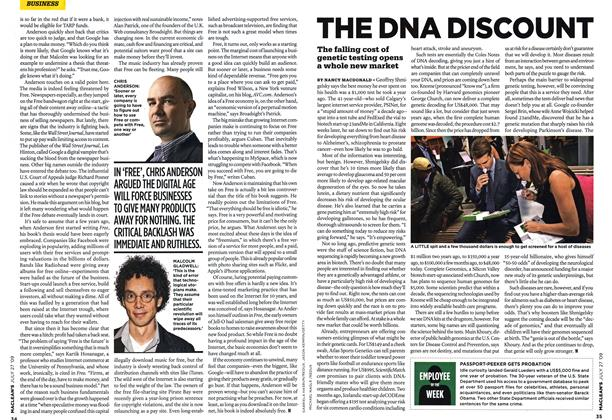 Article Preview: THE DNA DISCOUNT, JULY 27th 2009 2009 | Maclean's