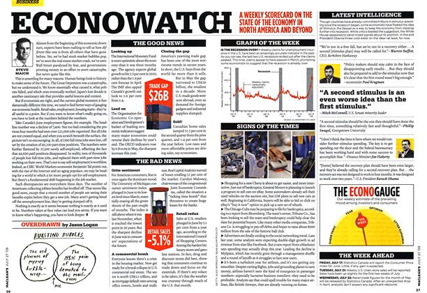 Article Preview: ECONOWATCH, JULY 27th 2009 2009 | Maclean's