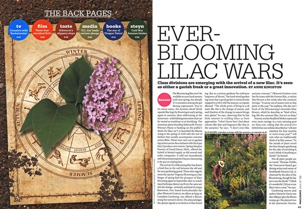 Article Preview: EVERBLOOMING LILAC WARS, JULY 27th 2009 2009 | Maclean's
